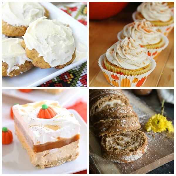 25 Pumpkin Desserts for Thanksgiving (No Pies!) from Table for Seven