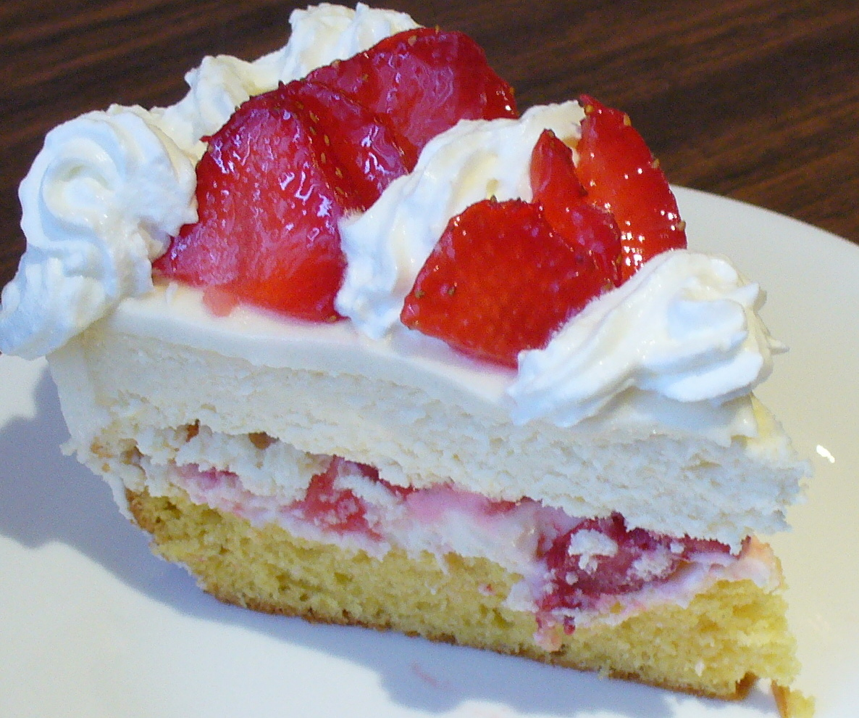 Strawberry Cheesecake Recipe: Recipe Shoebox: Strawberry Shortcake Cheesecake