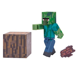 Minecraft Series 3 Zombie Villager Overworld Figure