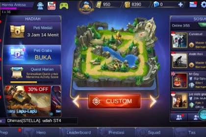 Manfaat Bermain Di Custom Mode Mobile Legends
