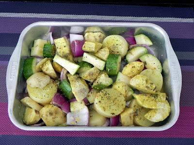 como assar legumes