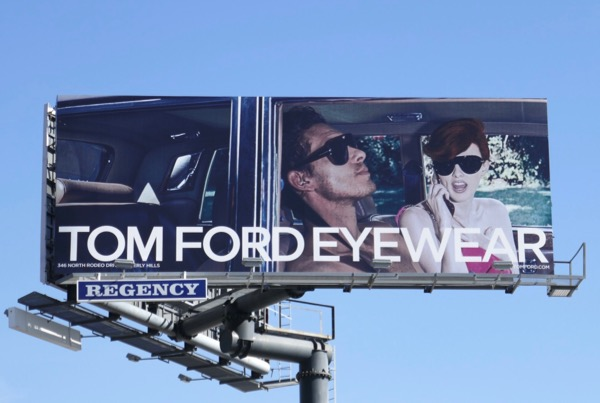 Tom Ford eyewear S18 billboard