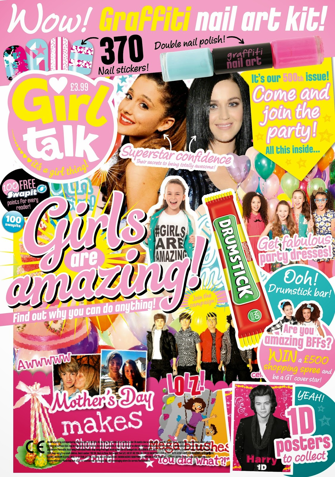 girl talk 500th issue