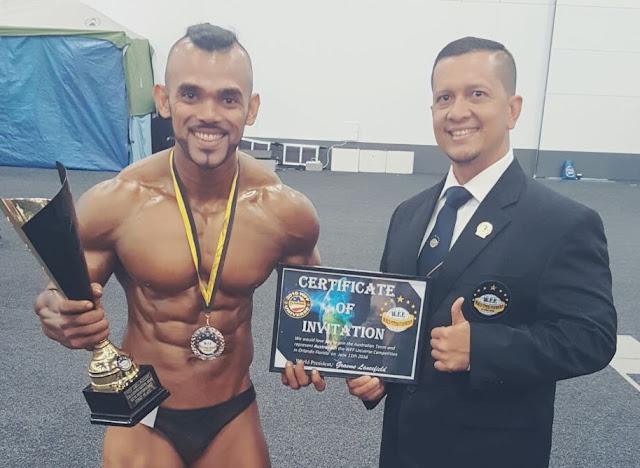Atlet Perbafi Kembali Bikin Bangga Indonesia di Kejuaraan NABBA/WFF Asia Pacific Australia