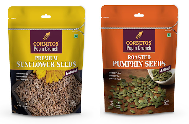 Cornitos launches crunchy seeds for a healthy lifestyle
