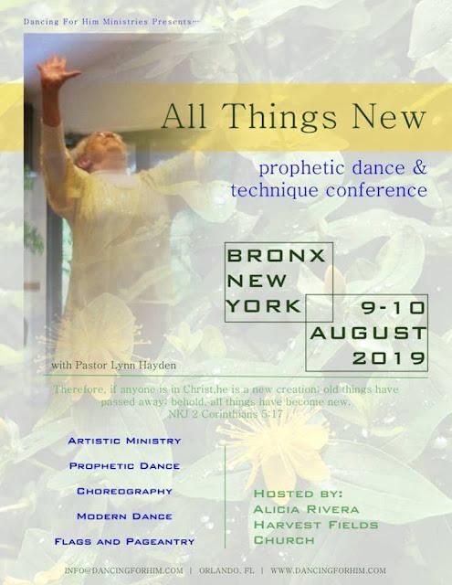 Praise Dance Conferences 2019-2020