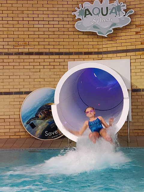 Slides at Coral Reef Waterworld Bracknell