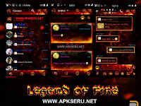 BBM Mod Droid Chat! Legend of Fire v2.13.1.14 apk