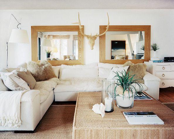 Western Look Living Room