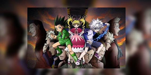 Rekomendasi Anime Game, Tentang Masuk Dunia Game Hunter x Hunter Greed Island terbaru