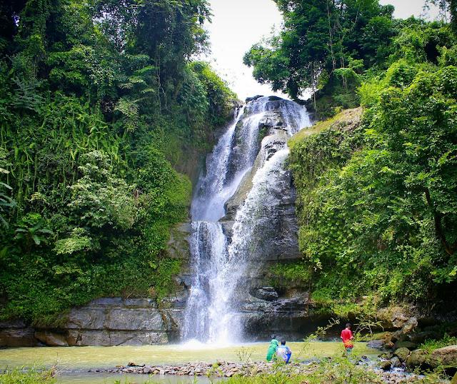 Mandala waterfall
