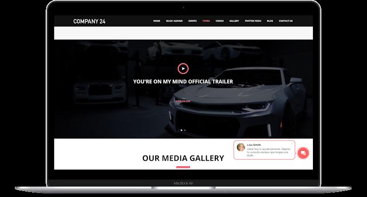 Crear sitio web con CRM desde Bitrix24