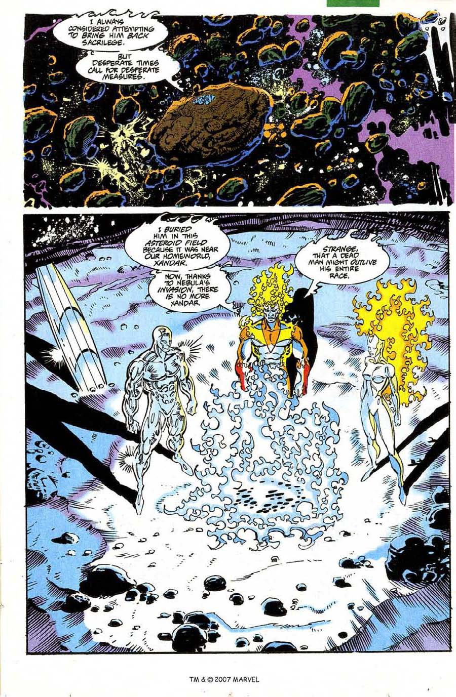 Read online Silver Surfer (1987) comic -  Issue #73 - 13