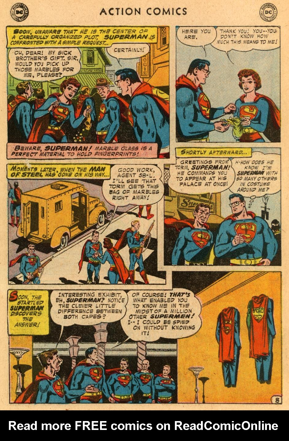 Read online Action Comics (1938) comic -  Issue #233 - 10