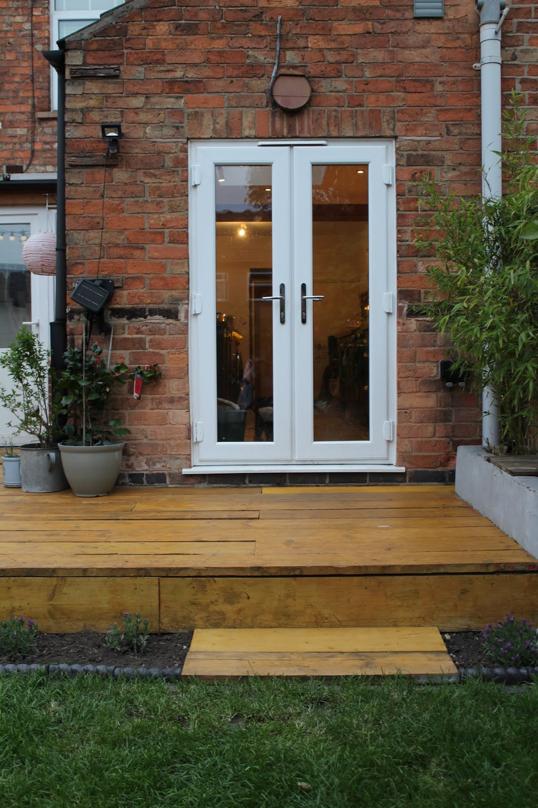 Scaffold Decking with Step