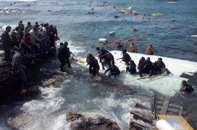 boat 600 african migrants sink egypt