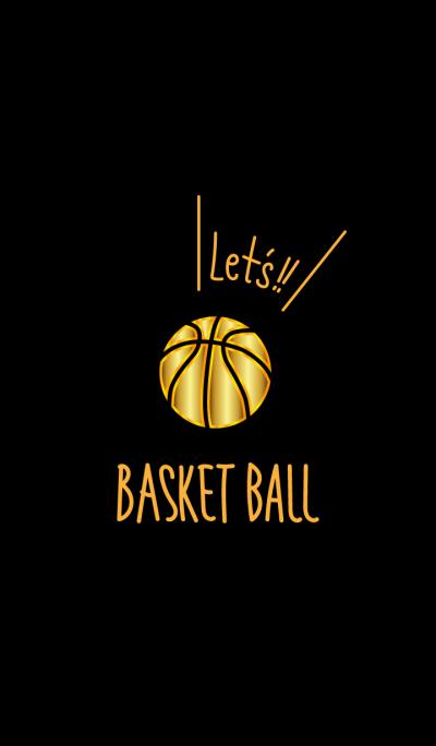 Let's basketball.Golden Theme WV