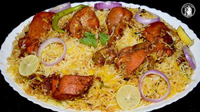 Chicken Tikka Biryani Hindi Urdu Recipe