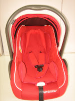 BabyDoes BD402 2 in One Baby Car Seat and Baby Carrier