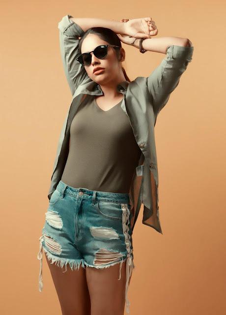 Nandita Swetha Latest Hot Photoshoot in Shorts