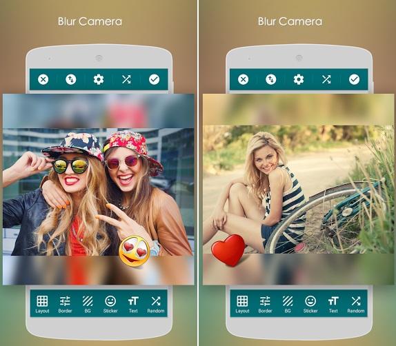 bokeh camera app