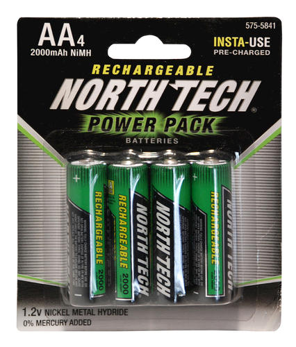 Junk Stuff And Thing S North Tech Precharged Nimh Batteries Aa Menards
