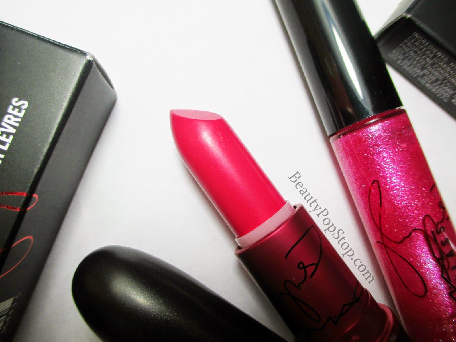 mac miley cyrus viva glam swatches and review