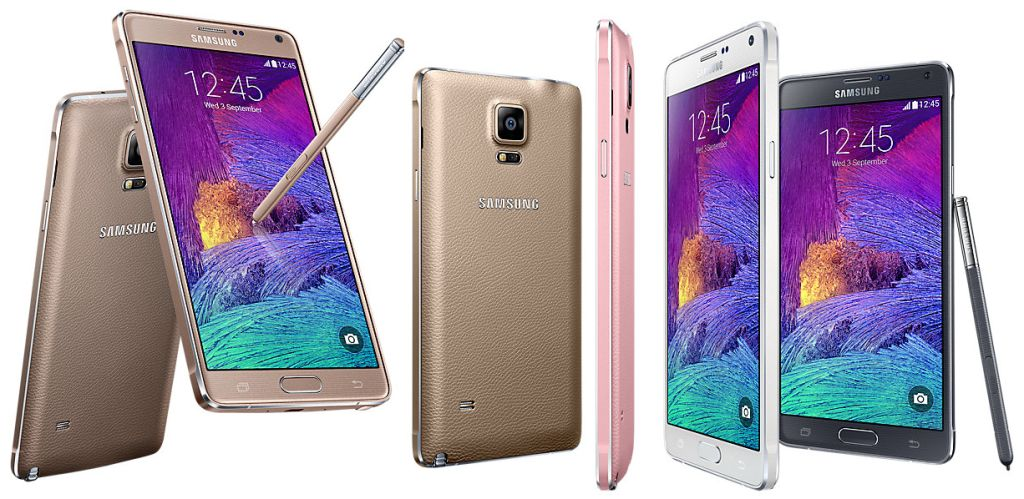 Samsung Galaxy Note 4 (2014) SM-N910H with Specifications