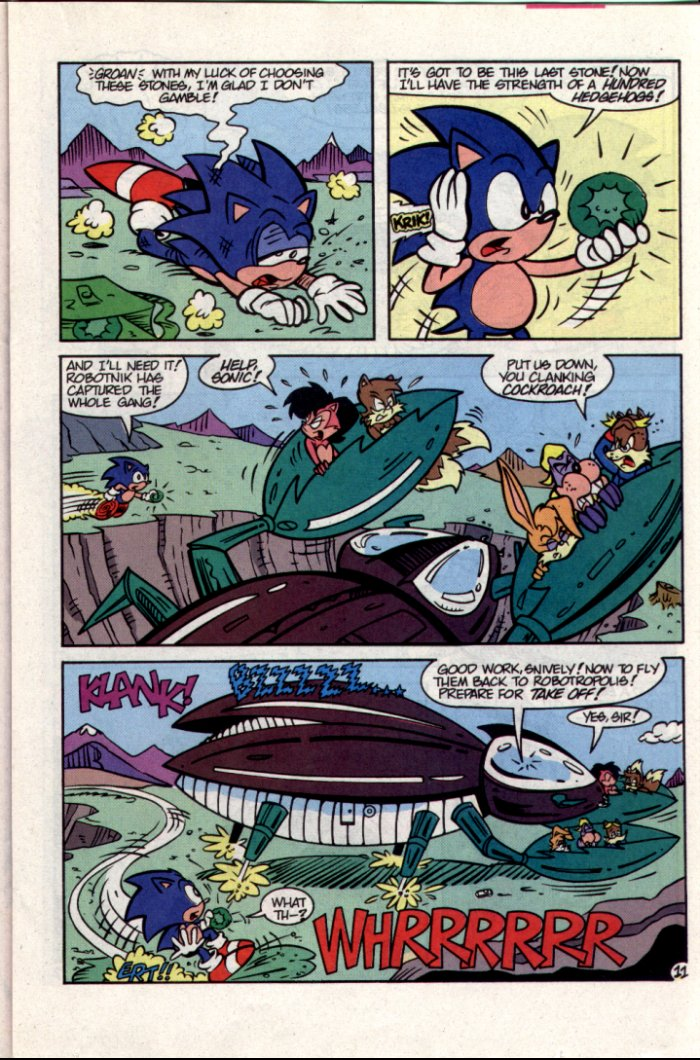 Read online Sonic The Hedgehog comic -  Issue #15 - 12