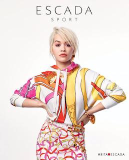 Rita Ora Fashion at Escada Spring Summer 2019 Campaign