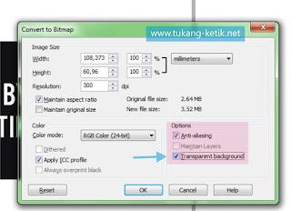 cara export file di corel draw
