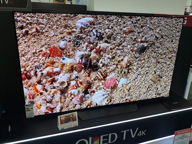 LG OLED65B8PLA colors