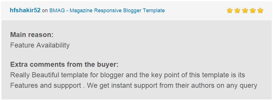 BMAG - Magazine Responsive Blogger Template - 23
