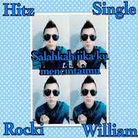 Lirik Lagu Rocki Williams Salahkah Jika Ku Mencintaimu