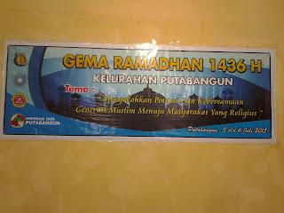 Gema Ramadhan 1436H Kelurahan Putabangun
