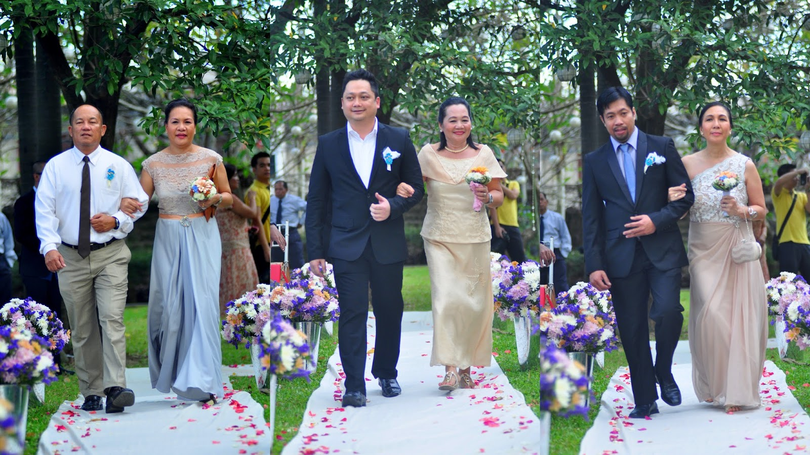 Principal Wedding Sponsor Gowns: Bubble Milk Tea Half-Sugar Diary!: Our Beautiful Wedding
