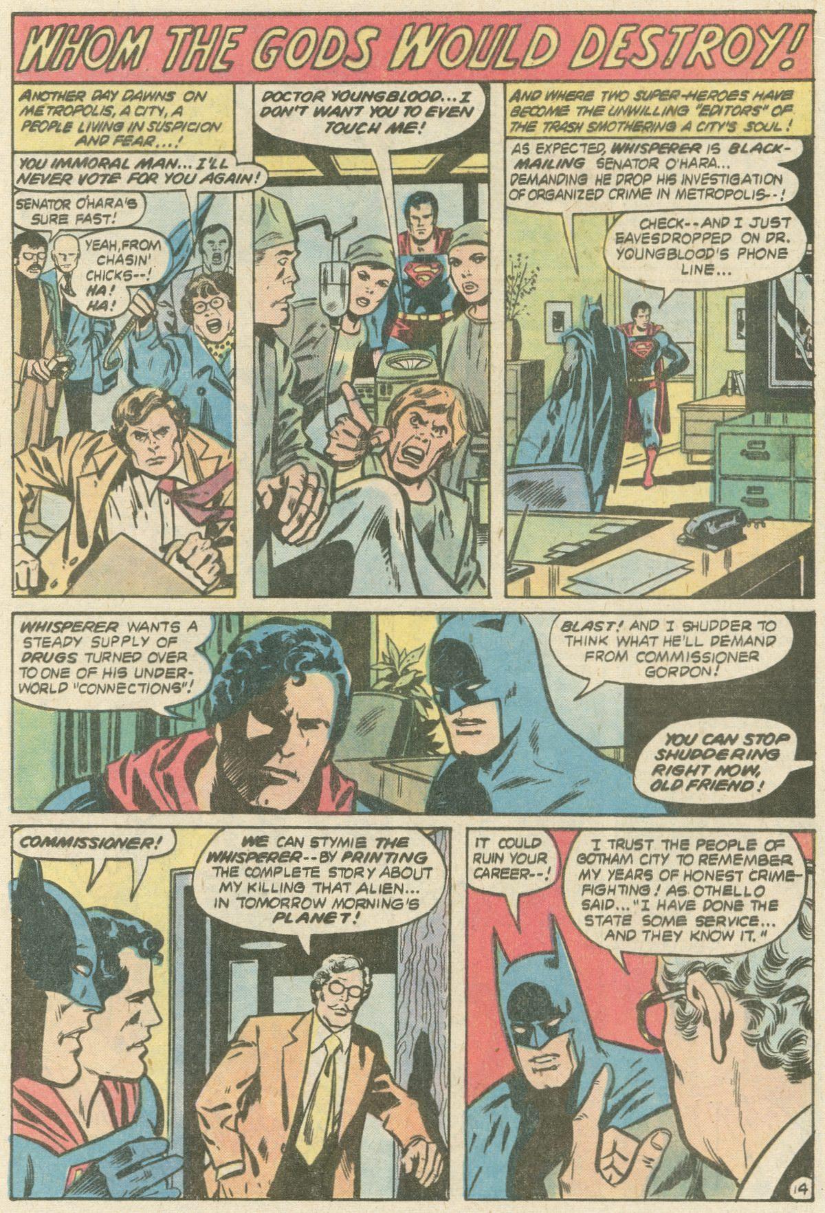 Read online World's Finest Comics comic -  Issue #252 - 18