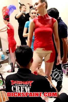 Body Painting Chinese New Year Jakarta