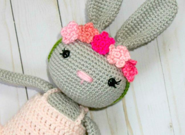 Crochet Ballerina Bunny Thefriendlyredfox