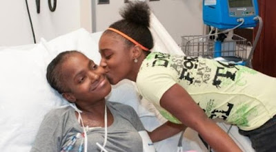 An American woman, Iesha Thomas, reportedly cured of sickle cell