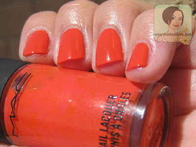 Mac All About Orange Ke Ai Fiestaware And Morange Nail