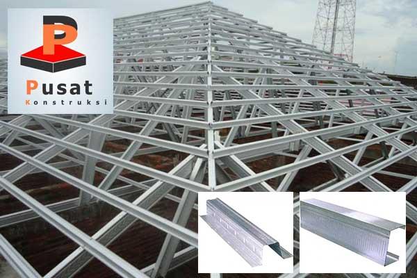 harga pasang atap baja ringan bogor per batang 2020 pusat konstruksi