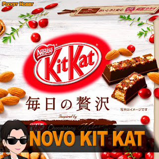 Novo Kit Kat no Japão - Pocket Hobby