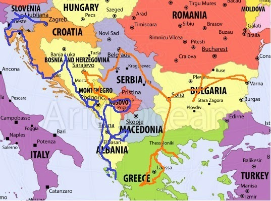Gone With The Backpack The Balkans Europe 180 S Forgotten