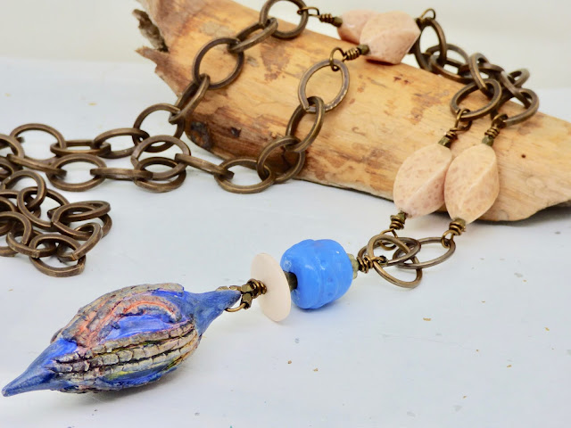 Seed Pod Necklace by BayMoonDesign