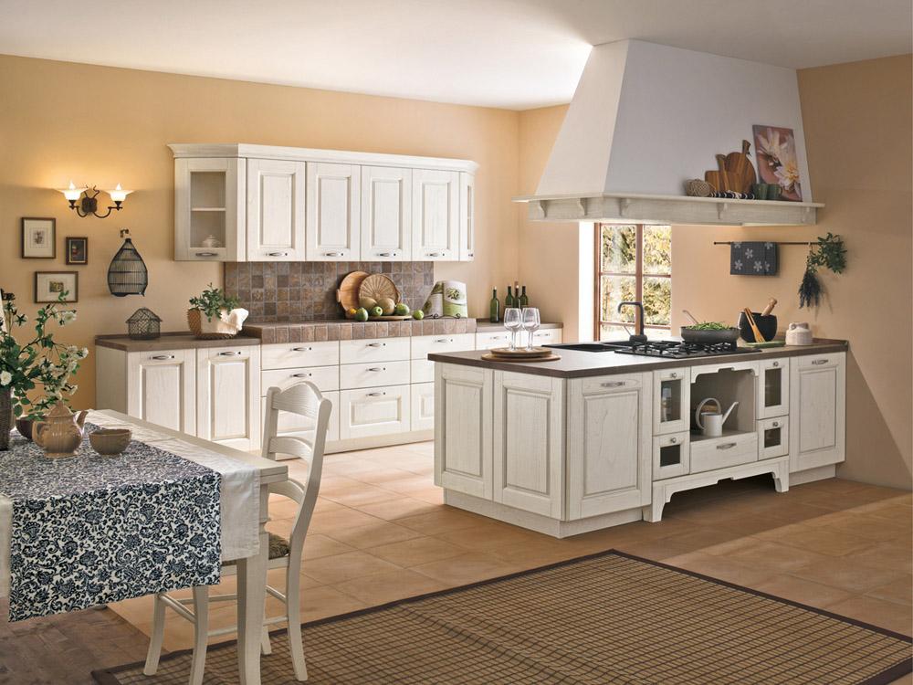 La cucina di oggi bella e pratica shabby chic interiors - Cucina coloniale ...