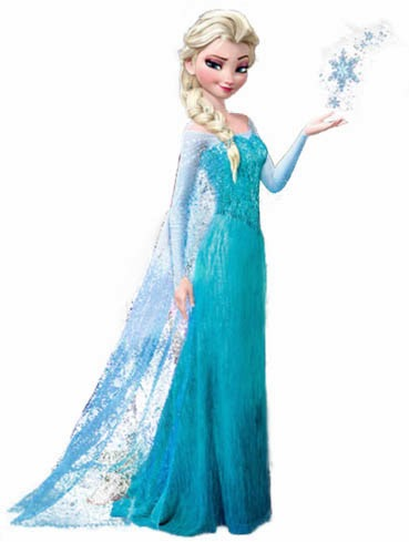 DIY Elsa Dress (From Frozen) - The Kim Six Fix