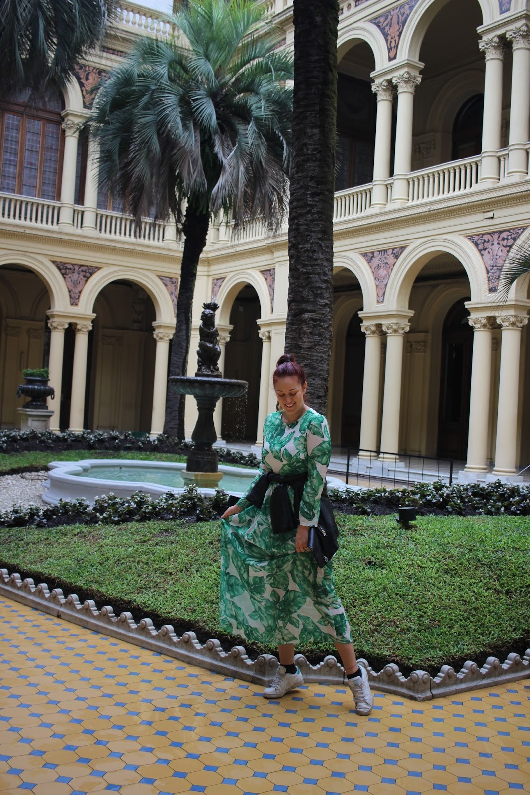 patio de las palmeras