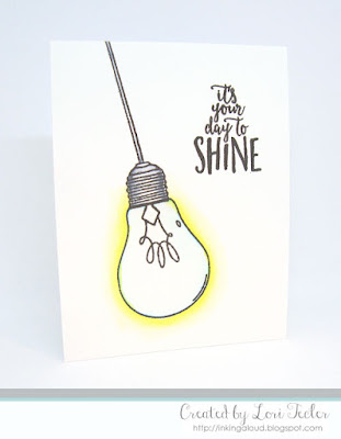 It's Your Day to Shine card-designed by Lori Tecler/Inking Aloud-stamps from Concord & 9th