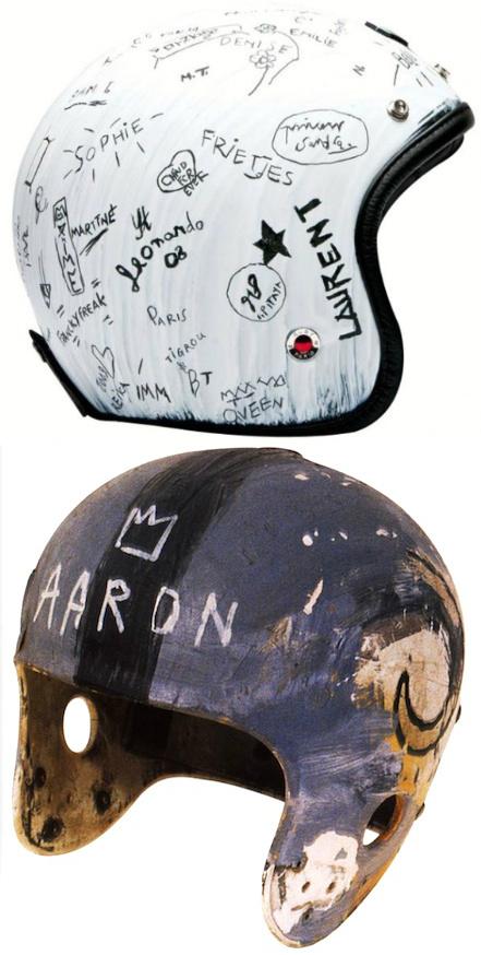 JULIAN SCHNABEL JEAN-MICHEL BASQUIAT THE CROWN MARTIN    Jean Michel Basquiat Crown